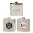 6 Oz. Stainless Steel Designer Flask
