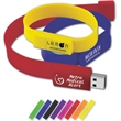 Wristband Drive™ WD - Wearable design keeps flash drive secure.
