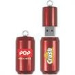 16GB Can Flash Drive (TM) CF - Soda pop can USB drive.