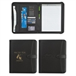 "Pebble Grain 8 1/2"" x 11"" Zippered Portfolio With Calculator"
