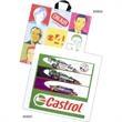 """Custom Printed Soft Loop Handle Bags - Custom printed soft loop handle bag with 4"""" bottom gusset."""