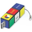 512MB Cube Twist Drive (TM) CT - Cube USB drive.
