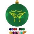"Flat Glossy Shatterproof Ornament - 3"" flat and round shatterproof ornament with glossy finish"