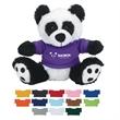 "6"" Plush Big Paw Panda With Shirt - 6"" Plush Big Paw Panda with Shirt"