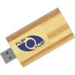 16GB Eco Flip Wood Drive (TM) EF - Wood USB 2.0 drive, USB connector flips around.