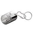 "1 1/2"" Qualicast Dog Tag - 1 1/2"" Qualicast Dog Tag with 24"" ball chain"
