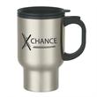 16 oz. Stainless Steel Travel Mug With Sip-Thru Lid