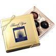 Five Chocolate Truffles in Gold Box