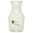 12 oz. Reserv Carafe/Cruet - 12-ounce clear plastic carafe.