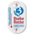 "Panorama Jr. Thermometer - Indoor or outdoor thermometer with suction cups and 2-1/2"" tube."