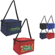 Brand Gear™ Value Lunch Bag Cooler™ - Insulated lunch bag cooler sized for a six pack of cans.