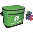 Brand Gear™ Alaska™ Cooler 12-Pack + - PVC-backed insulated 12 pack cooler.