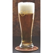 "Pilsner Glass - 8"" tall 16-ounce Pilsner-style beer glass."