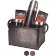 Empire™ Thermos & Cups Ghirardelli® Cocoa Set - Gift set with Empire™ thermos, mugs and two packets of Ghirardelli® hot cocoa.