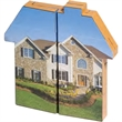 Magic Concepts (R) Magic Custom Shapes (R) House - Overseas direct house shaped puzzle.