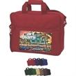 Brand Gear (TM) Miami Briefcase (TM) - Versatile briefcase with zippered main compartment.