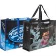Custom Laminated Poly Pro Tote 80GSM - Customized reusable shopper bag, non woven polypropylene. Overseas Direct.