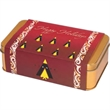 Ghirardelli® Greetings Tin - Wrapped metal gift tin with 15 squares of Ghirardelli® chocolate.