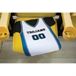 Jersey Rally Towels - 100% polyester, velour jersey shaped rally towel.