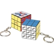 Micro Rubik's® Cube Key Holder - Micro sized Rubik's® Cube key holder.