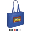 Mega-Show Tote - 80 grams non woven polypropylene show tote bag with hook and loop fastener closure.