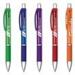 Diamond Grip Pen™ - Color Barrel - Click action retractable ballpoint pen with diamond grip.