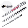 Hi-Speed USB 2.0 Pen Flash Drive - Sleek twist-action pen with built-in USB flash drive