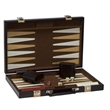 "18"" Brown Backgammon Set - 18"" brown briefcase style case with backgammon set"