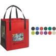 Metro Enviro-Shopper - 85GSM - Non woven reusable 85 GSM two tone tote bag, an Eco-Responsible (TM) product.