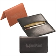 Alpine™ Card Case (Sueded Full-Grain Leather) - Sueded full grain leather card case with suede lining.