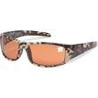 Military Digital Camo Sunglasses - Military digital camo design sunglasses with amber lens and 400 UV protection.