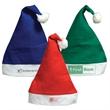 Felt Santa Hat - Felt Santa Claus hat with white trim and three color choices.