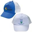 Econo Non-Woven Polyester Cap - Five-panel non-woven/polyester cap with adjustable velcro strap. Closeout all colors.