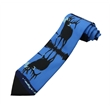 Polyester Custom Digital Printed Adult Clip on Neck Tie - Polyester Custom logo digital Printed Clip On Neck Tie