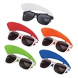 "Key West Visor Sunglasses - 1.75"" x 3.38"" x 5.75"" polypropylene combination sunglasses and visor with 100% UVA and UVB protection."