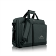 "Solo® Duane Hybrid Briefcase - 4"" x 12"" x 16.5"" Solo Duane hybrid briefcase/backpack; includes removable/adjustable shoulder strap and laptop and tablet pockets."
