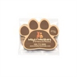 Cat Treats in Bag with Paw Magnet - 1 ounce bag of cat treats with an attached four color process imprinted paw-print shaped magnet.