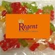 Business Card Magnet w/Large Bag of Gummy Bears -
