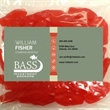 Business Card Magnet w/Large Bag of Swedish Fish - Business Card Magnet w/Large Bag of Swedish Fish