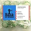 Business Card Magnet w/Large Bag of Spearmints