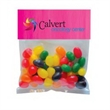 "Standard Jelly Beans in Sm Header Pack - Small header pack filled with jelly beans; includes a 3"" x 5"" four color process header card;"