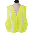 Safety Vest with Reflective Stripes - Safety vest with reflective stripes.