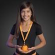 Light up pumpkin and Happy Halloween lanyard