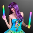"""Multicolor cheer stick with color changing LEDs - Stock 16"""" foam LED cheer sticks. Blank."""