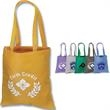 Value Tote - Tote bag, durable 600 denier polyester with PVC backing construction.