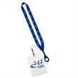 "3/4"" Retractable Lanyard with 3"" W x 4"" H Plastic ID Badge - 3/4"" Retractable Lanyard with 3"" W x 4"" H Plastic Identification Badge."