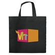 Heat Sealed Shopping Bag - Heat sealed non woven shopping tote bag.