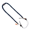 "5/8"" Polyester Eyewear Retainer w/ Crimp & Earplugs - 5/8"" Polyester Eyewear Retainer with Crimp and Earplugs."