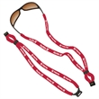 "3/8"" Dual-Use Cotton Trade Show Lanyard - 3/8"" Dual-use cotton trade show lanyard."