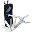 MULTIMASTER Stainless 17-Function Multi-Tool - Stainless 17-function tool with pliers design. Offered w/ nylon pouch, bits, holder.